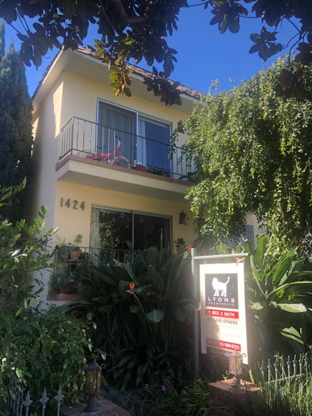 1 bedroom apartment for rent 1424 15th street santa monica - One bedroom apartments in santa monica ...